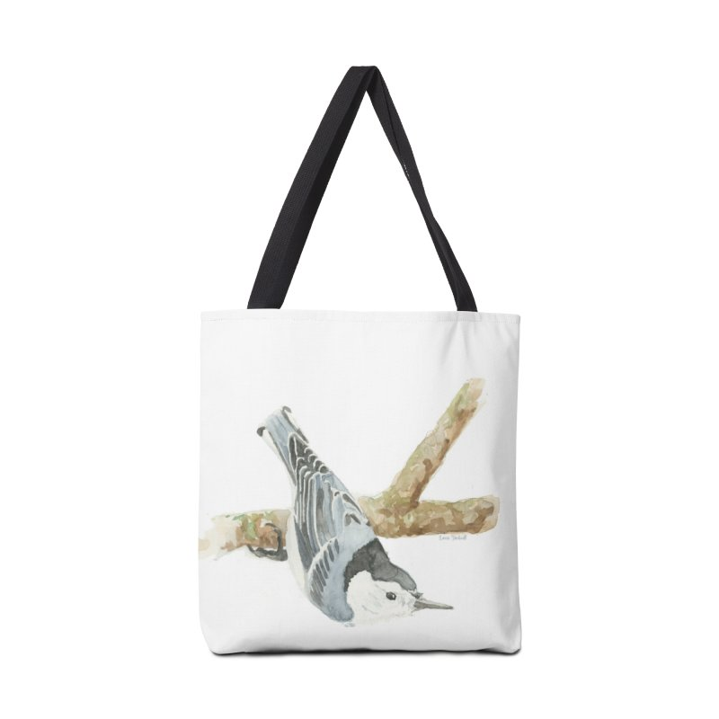 Nuthatch Accessories Tote Bag Bag by LauraStockwell's Artist Shop
