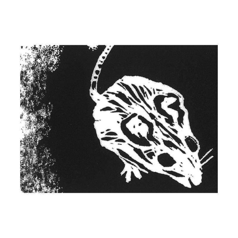 Linocut Mouse Accessories Bag by LauraStockwell's Artist Shop