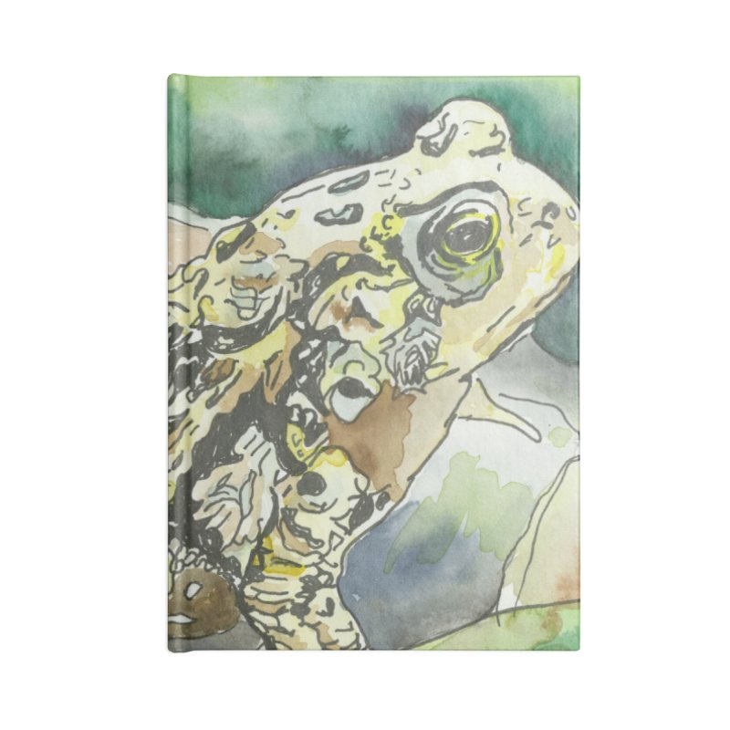 American Toad Accessories Notebook by LauraStockwell's Artist Shop