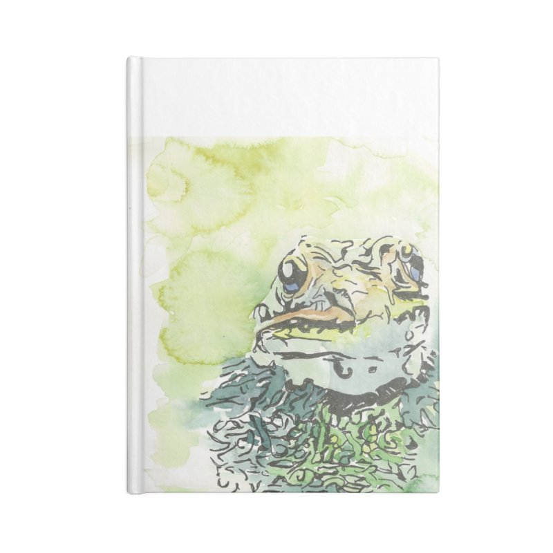 Leopard Frog Accessories Notebook by LauraStockwell's Artist Shop