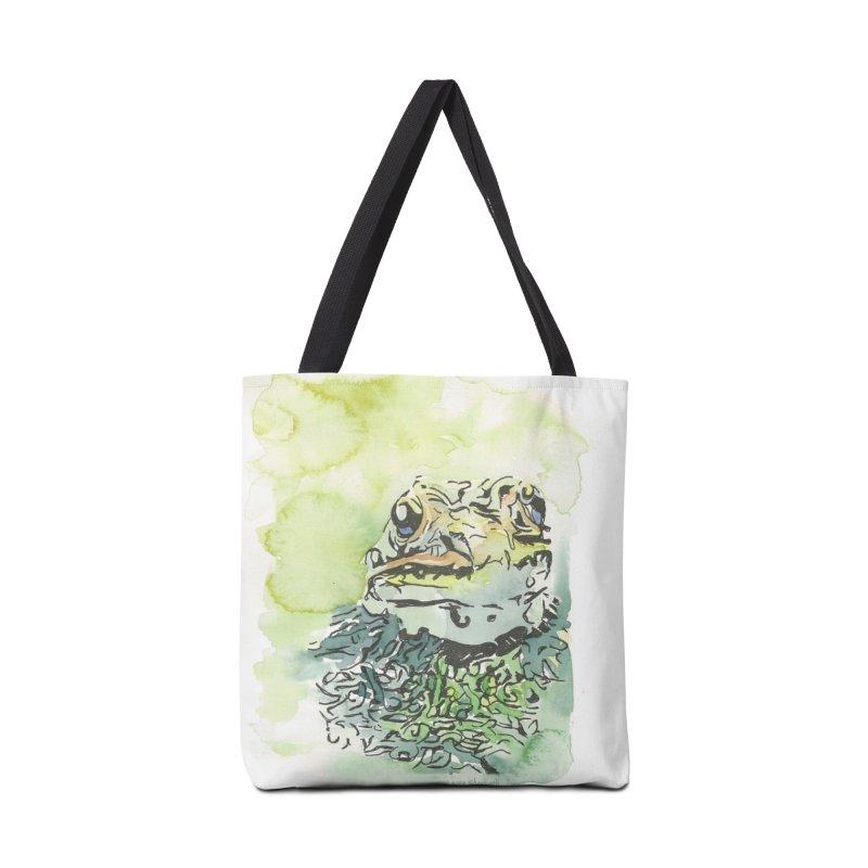 Leopard Frog Accessories Tote Bag Bag by LauraStockwell's Artist Shop