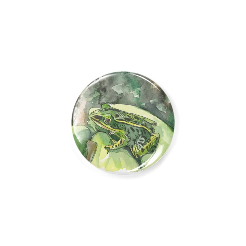 Leopard Frog 2 Accessories Button by LauraStockwell's Artist Shop