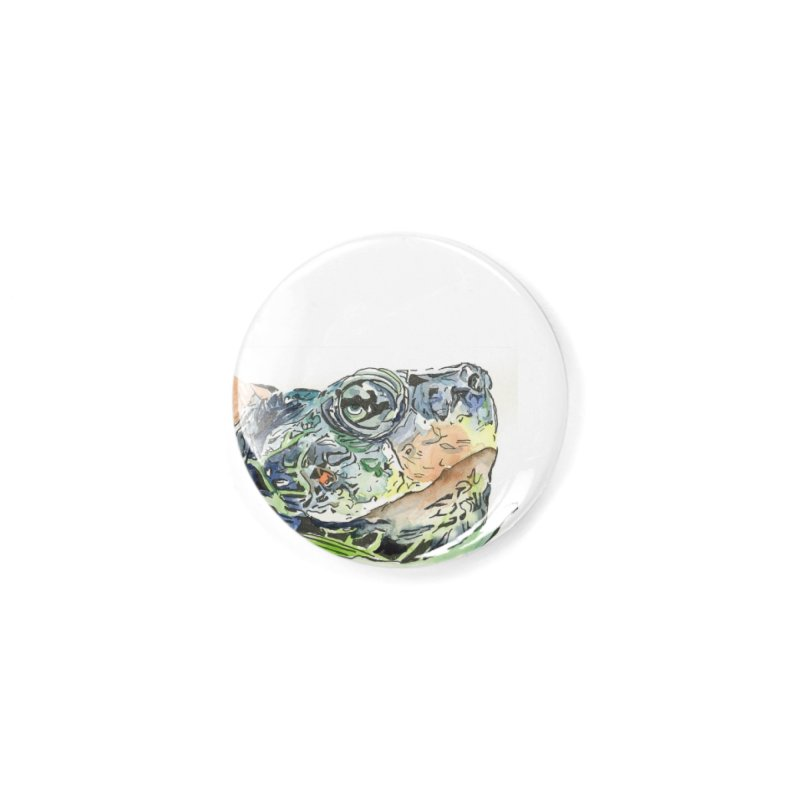 Snapping Turtle Accessories Button by LauraStockwell's Artist Shop