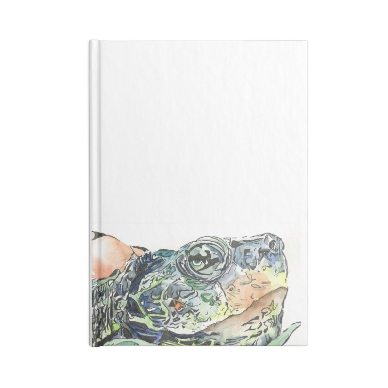 Snapping Turtle Accessories Blank Journal Notebook by LauraStockwell's Artist Shop