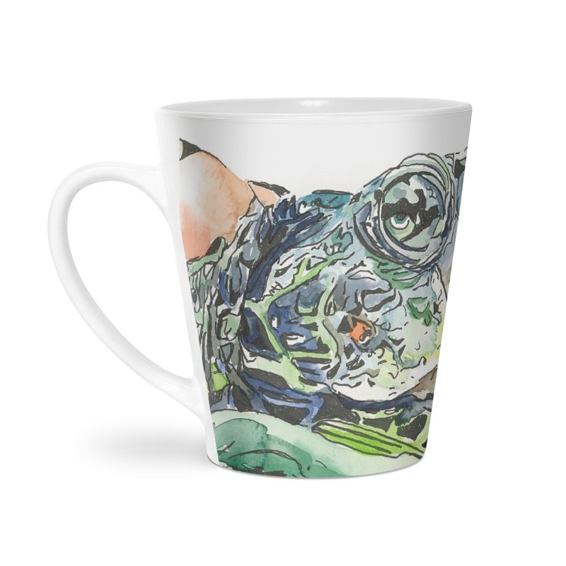 Snapping Turtle Accessories Latte Mug by LauraStockwell's Artist Shop