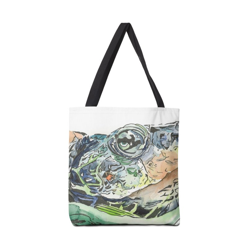 Snapping Turtle Accessories Tote Bag Bag by LauraStockwell's Artist Shop