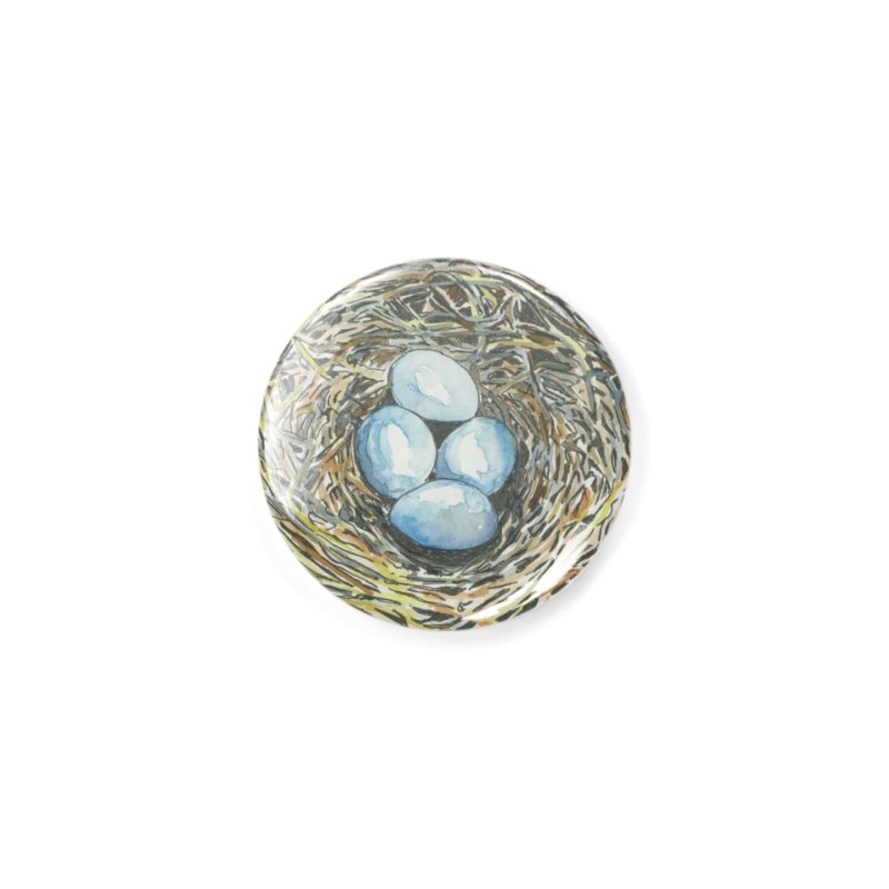 Robin's Nest Accessories Button by LauraStockwell's Artist Shop