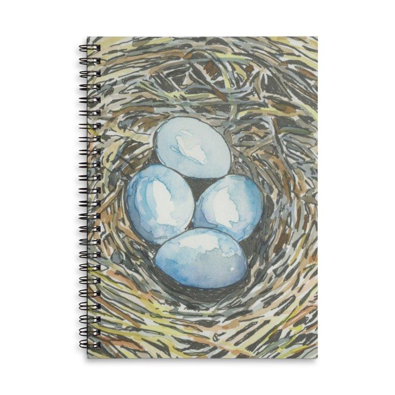Robin's Nest Accessories Notebook by LauraStockwell's Artist Shop