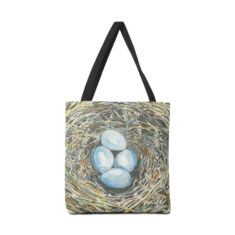 Robin's Nest Accessories Bag by LauraStockwell's Artist Shop