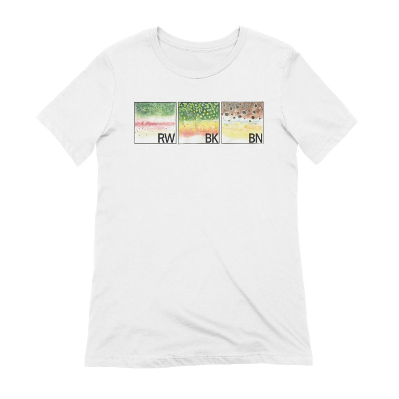 Trouts Women's T-Shirt by LauraStockwell's Artist Shop