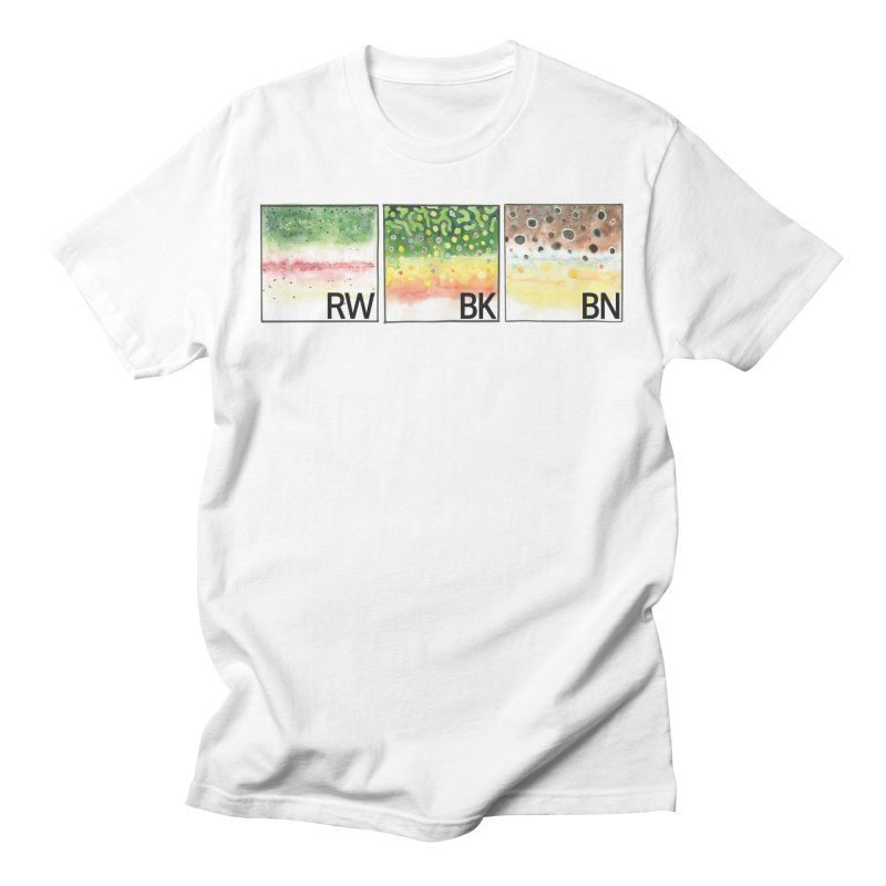 Trouts Men's T-Shirt by LauraStockwell's Artist Shop