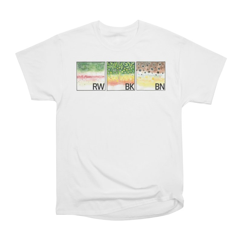 Trouts Men's T-Shirt by LauraStockwell's Artist Shop
