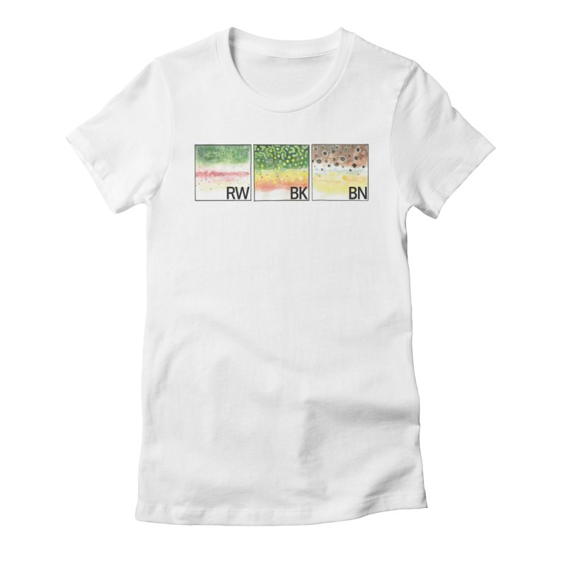 Trouts Women's T-Shirt by LauraStockwell's Artist Shop