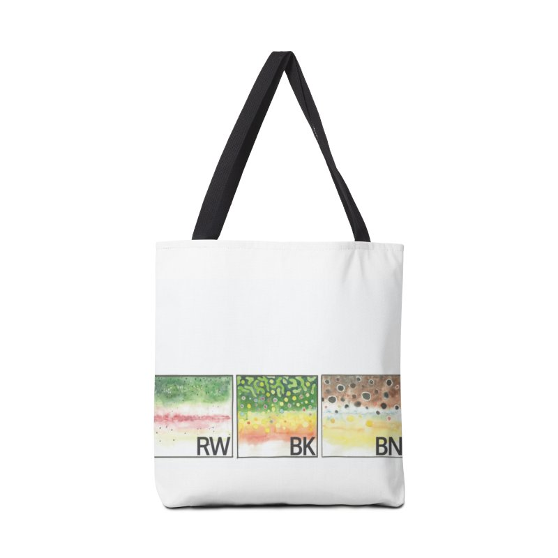 Trouts Accessories Bag by LauraStockwell's Artist Shop