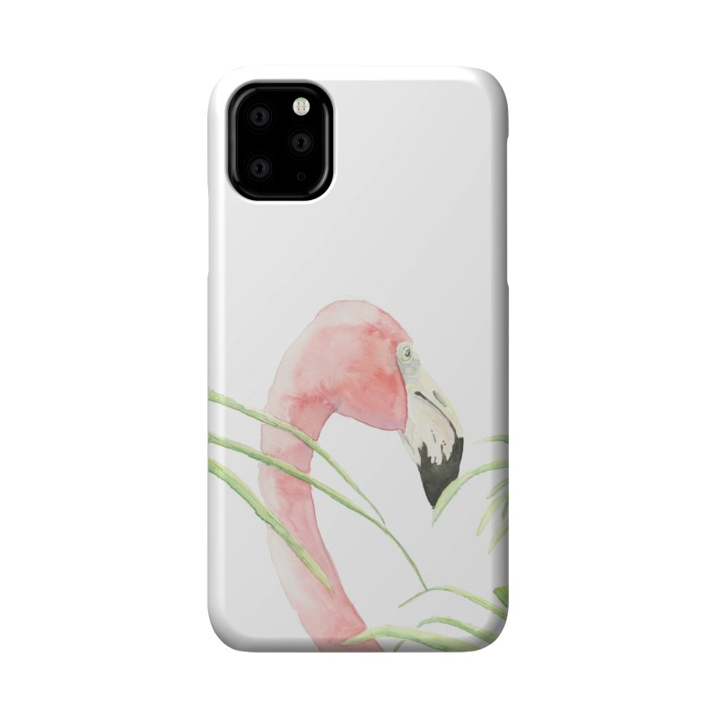 Flamingo Accessories Phone Case by LauraStockwell's Artist Shop