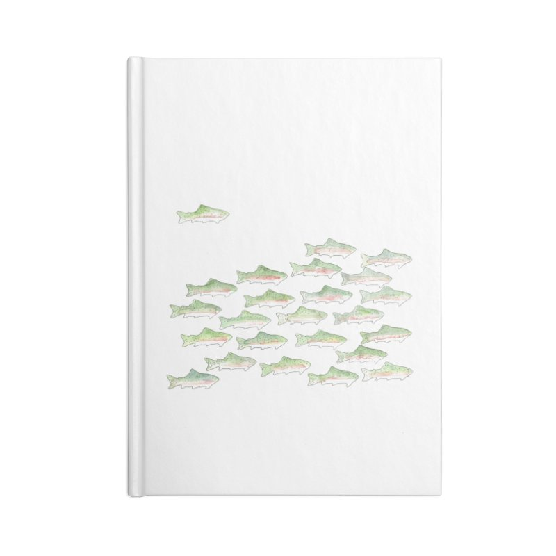 Rainbow Trout Accessories Notebook by LauraStockwell's Artist Shop