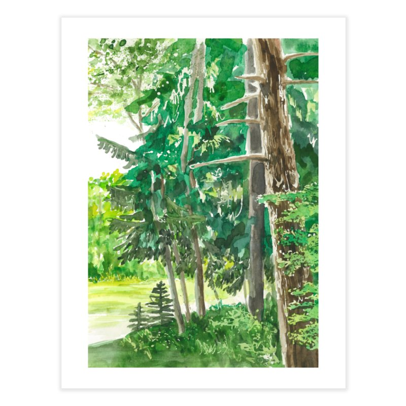 A Pause in the Day Home Fine Art Print by LauraStockwell's Artist Shop