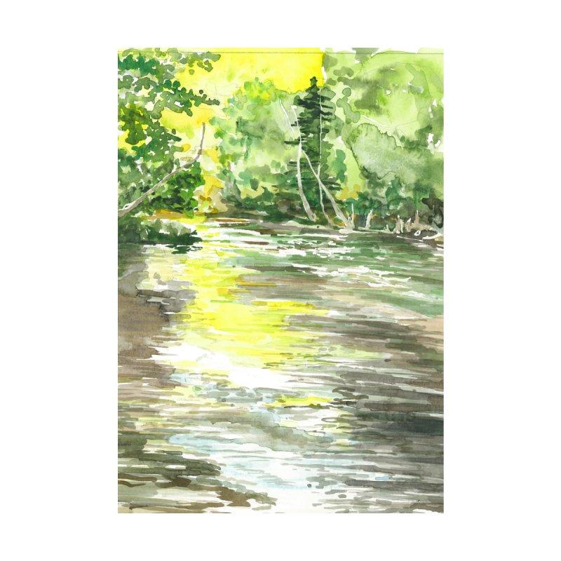The River Home Fine Art Print by LauraStockwell's Artist Shop