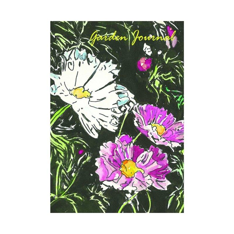 Garden Journal-Cosmos Accessories Notebook by LauraStockwell's Artist Shop