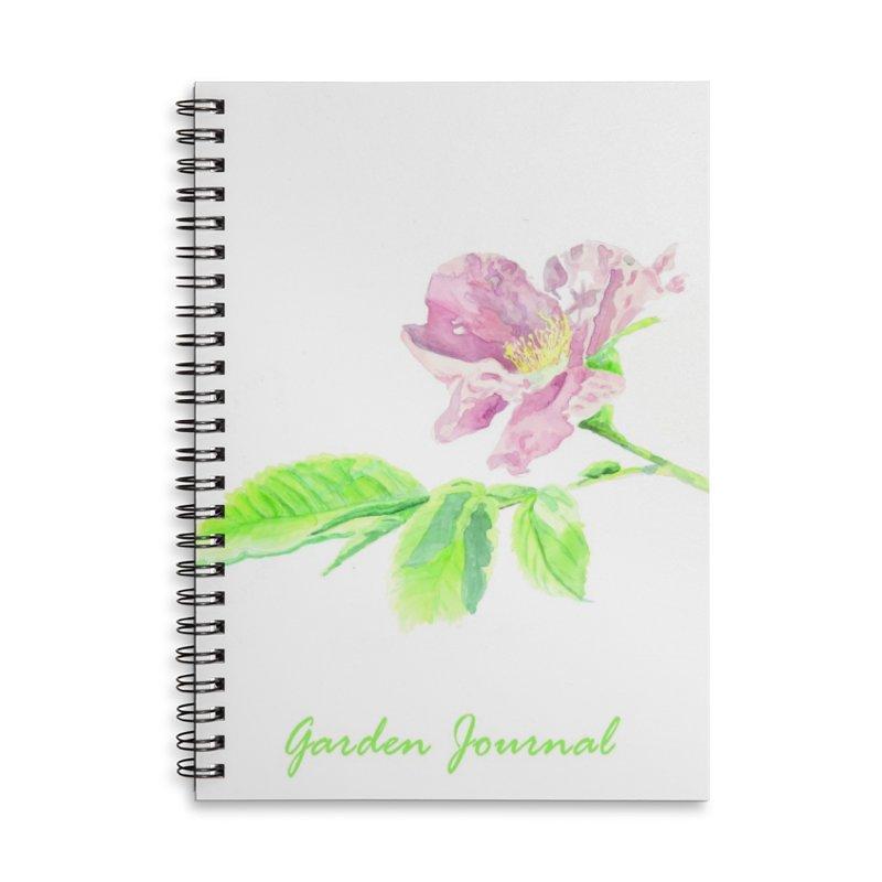 Garden Journal - Rose Accessories Notebook by LauraStockwell's Artist Shop