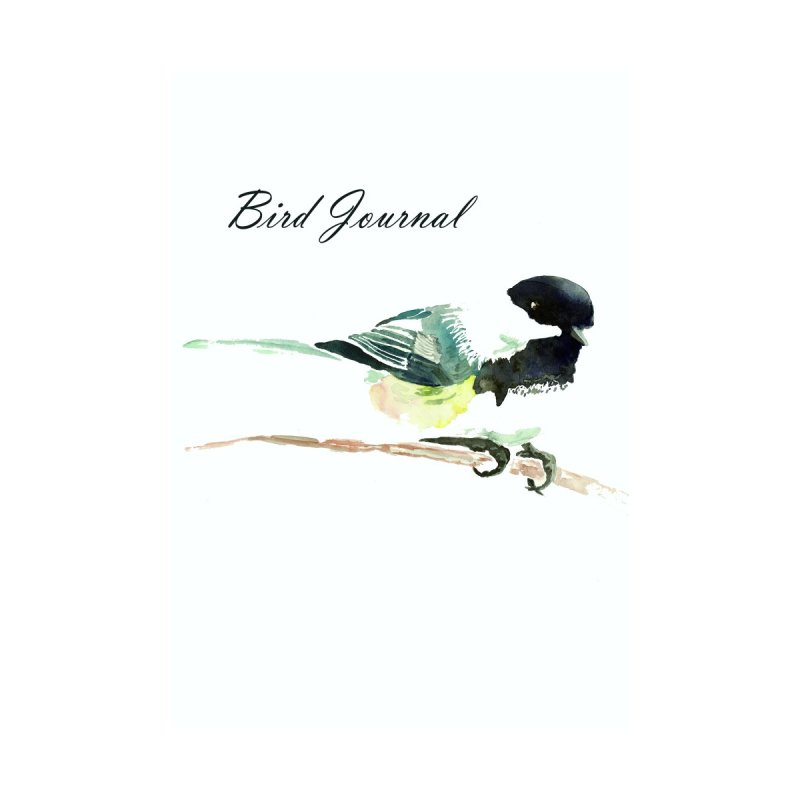 Bird Journal -Chickadee Accessories Notebook by LauraStockwell's Artist Shop