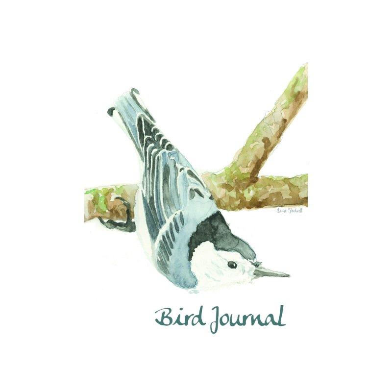 Bird Journal -Nuthatch Accessories Notebook by LauraStockwell's Artist Shop