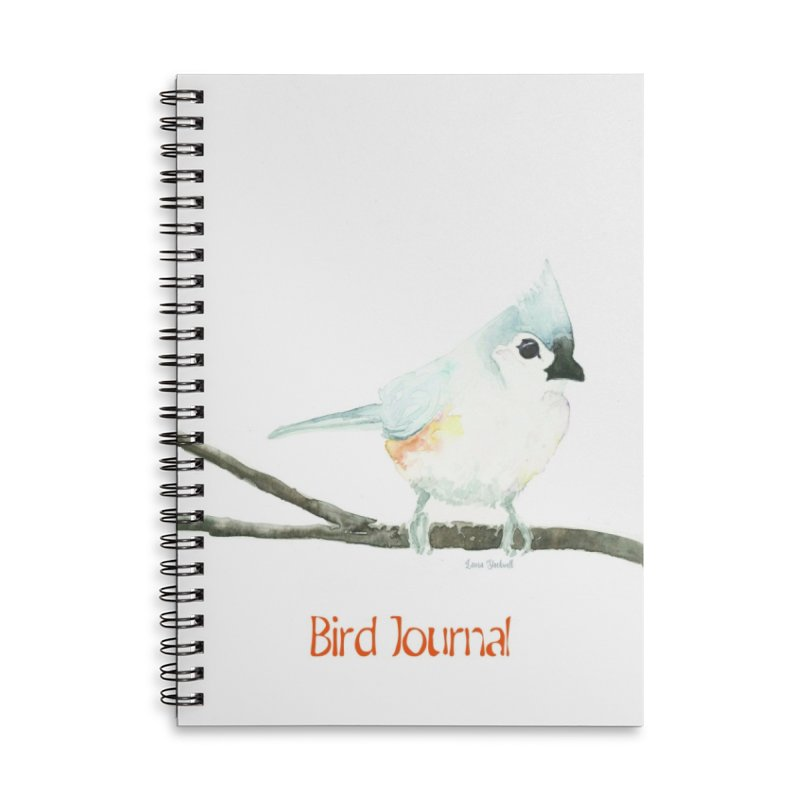 Bird Journal - Titmouse Accessories Notebook by LauraStockwell's Artist Shop