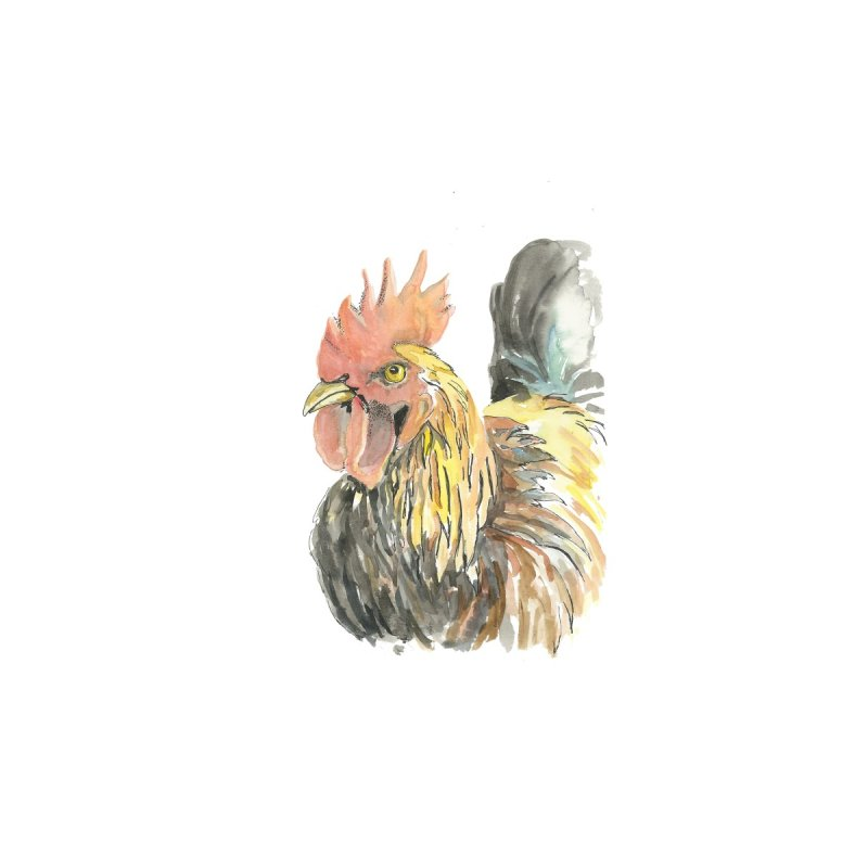 Rooster Home Throw Pillow by LauraStockwell's Artist Shop
