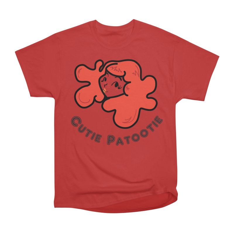 Cutie Patootie Women's Heavyweight Unisex T-Shirt by LaurenVersino's Artist Shop