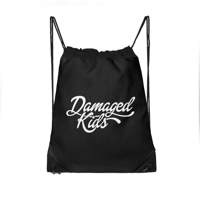 Original Damaged Kids Logo - White Accessories Bag by LaurenVersino's Artist Shop