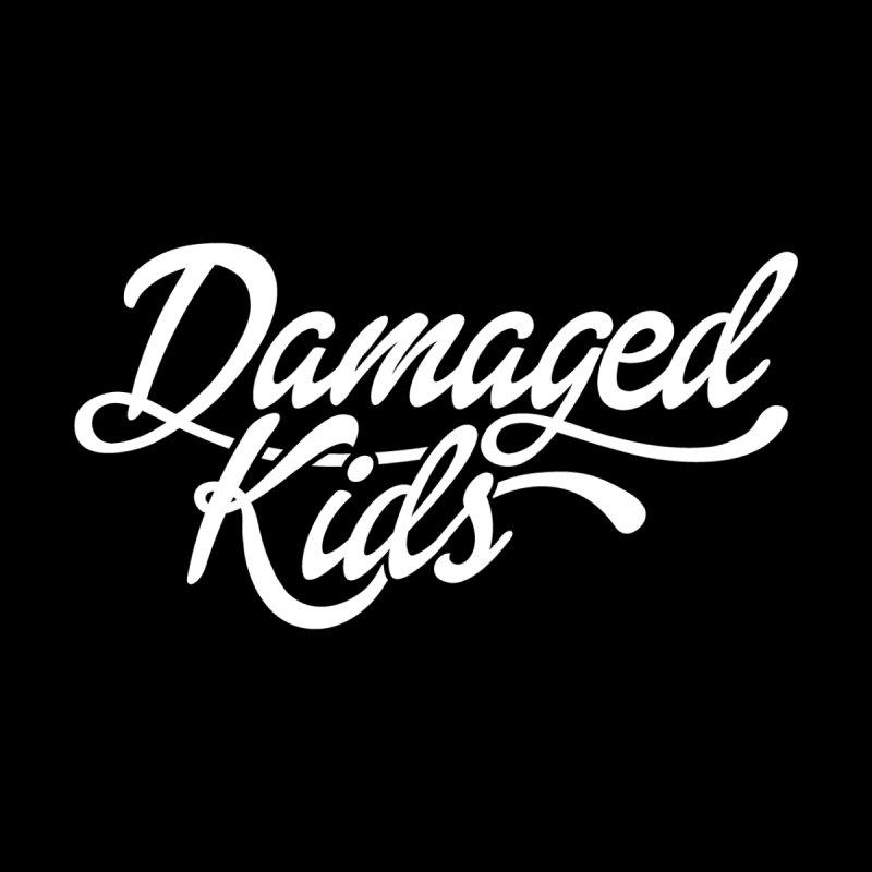 Original Damaged Kids Logo - White by LaurenVersino's Artist Shop