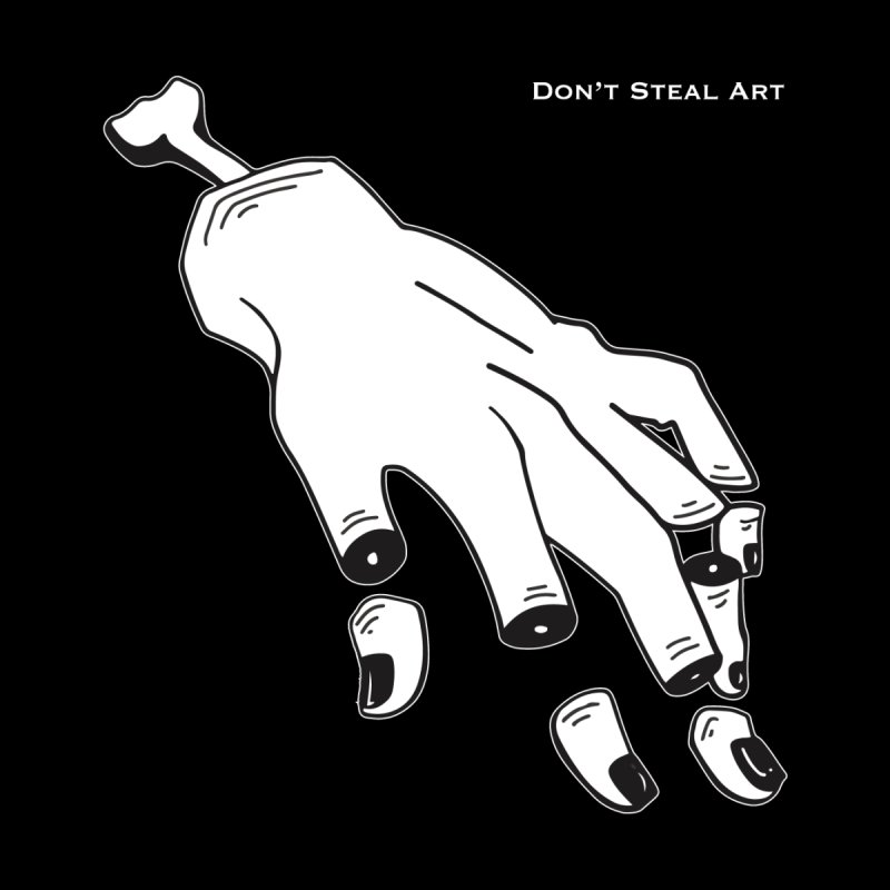 Don't Steal Art - Punishable Design by LaurenVersino's Artist Shop