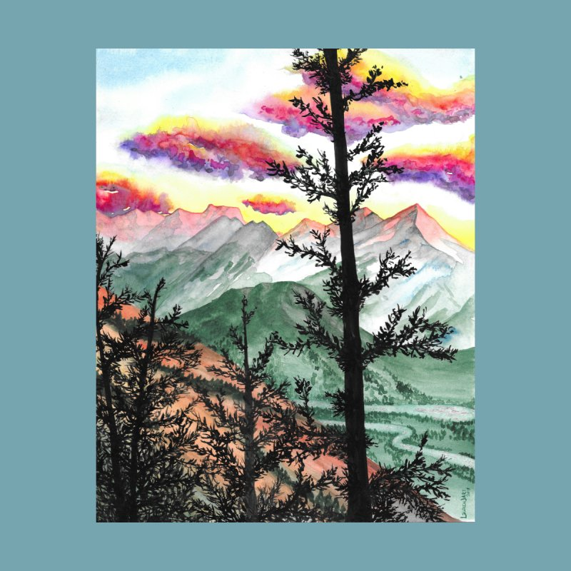 Candy Skies by Laurin J Art's Artist Shop