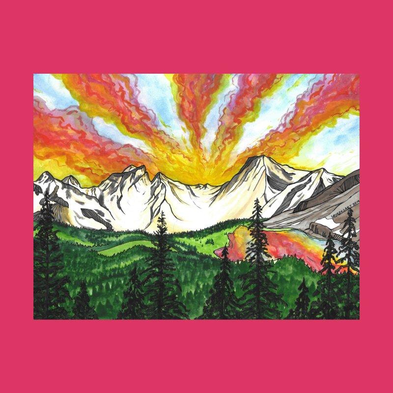 Sky on Fire by Laurin J Art's Artist Shop
