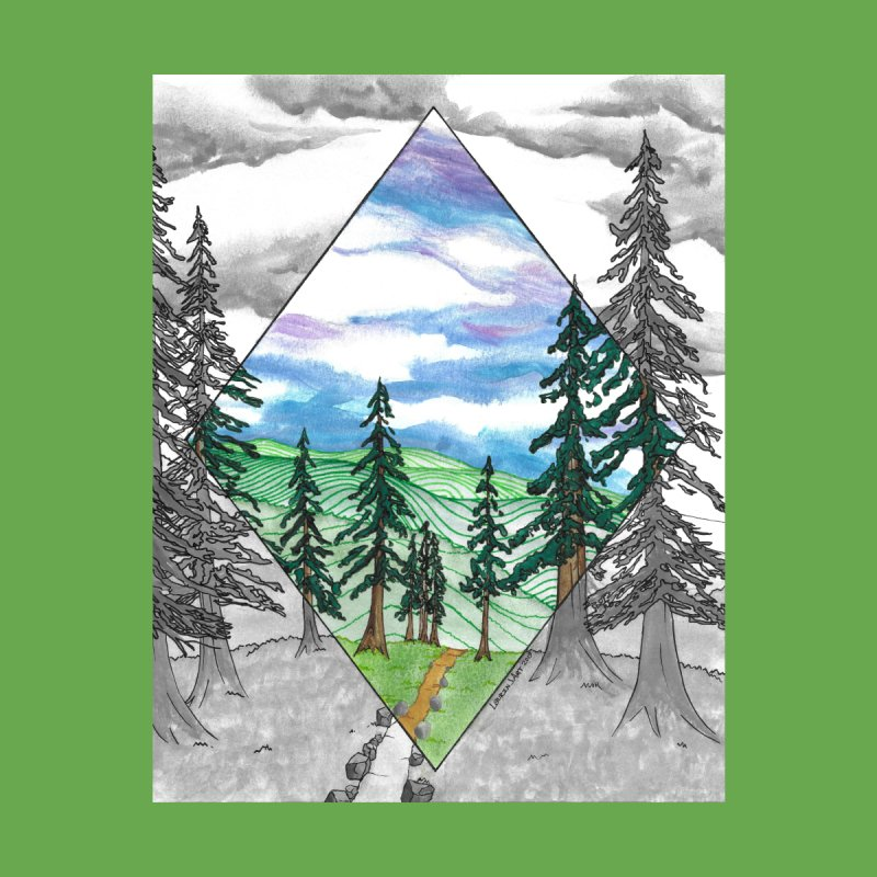 Into the Distance by Laurin J Art's Artist Shop