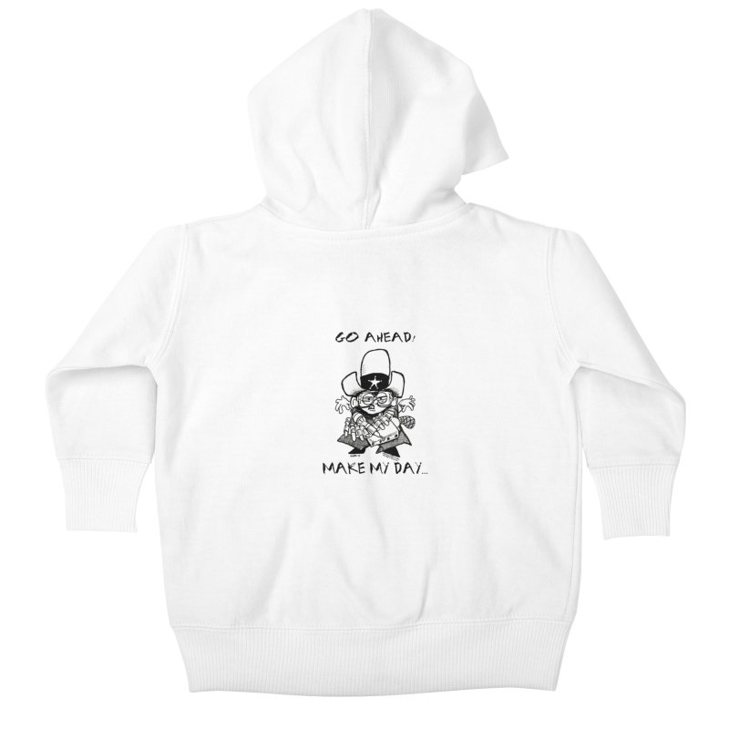 WHIZ KIDS Kids Baby Zip-Up Hoody by LazyBonesStudios's Artist Shop