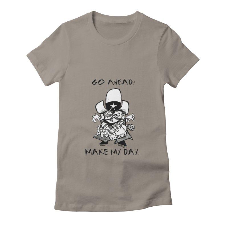 WHIZ KIDS Women's Fitted T-Shirt by LazyBonesStudios's Artist Shop