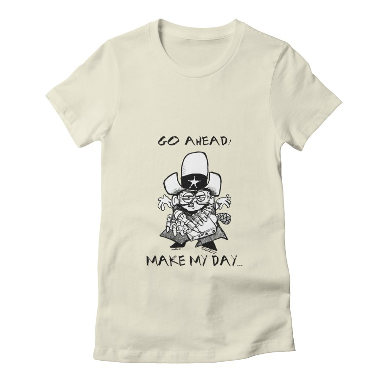 WHIZ KIDS Women's Fitted T-Shirt by LazyBonesStudios's Artist Shop