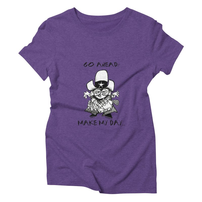 WHIZ KIDS Women's Triblend T-Shirt by LazyBonesStudios's Artist Shop