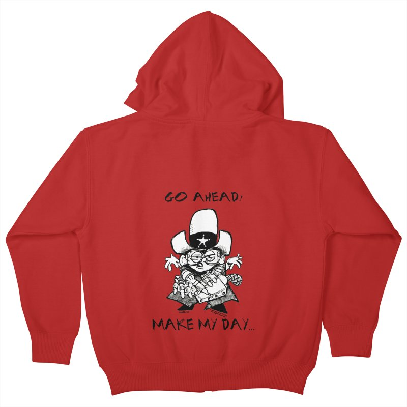 WHIZ KIDS Kids Zip-Up Hoody by LazyBonesStudios's Artist Shop
