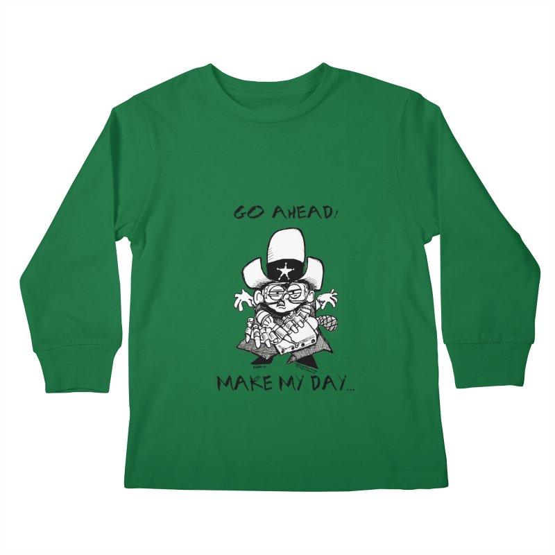 WHIZ KIDS Kids Longsleeve T-Shirt by LazyBonesStudios's Artist Shop