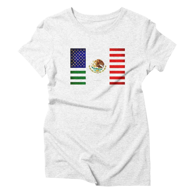 MEXICAN AMERICAN FLAG   by LazyBonesStudios's Artist Shop
