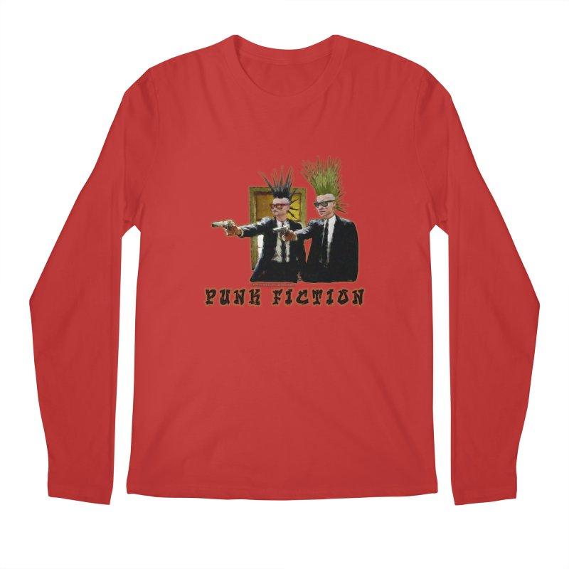 PUNK FICTION Men's Longsleeve T-Shirt by LazyBonesStudios's Artist Shop