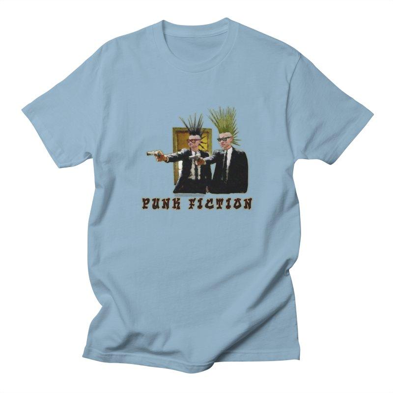 PUNK FICTION Men's T-shirt by LazyBonesStudios's Artist Shop