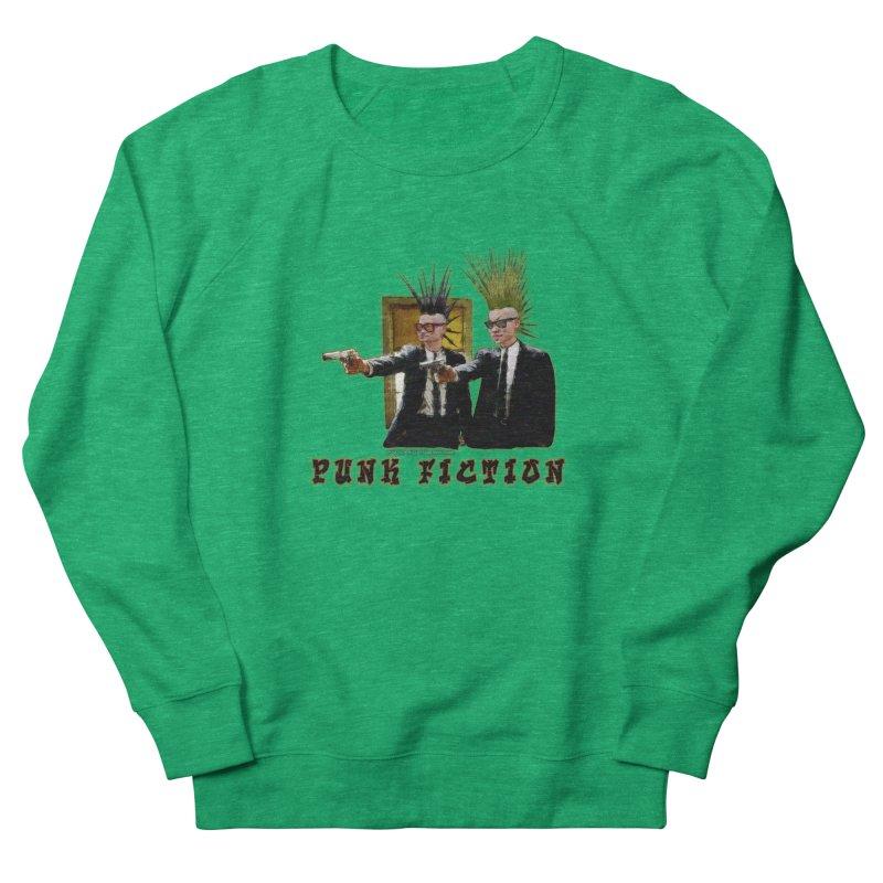 PUNK FICTION Women's Sweatshirt by LazyBonesStudios's Artist Shop