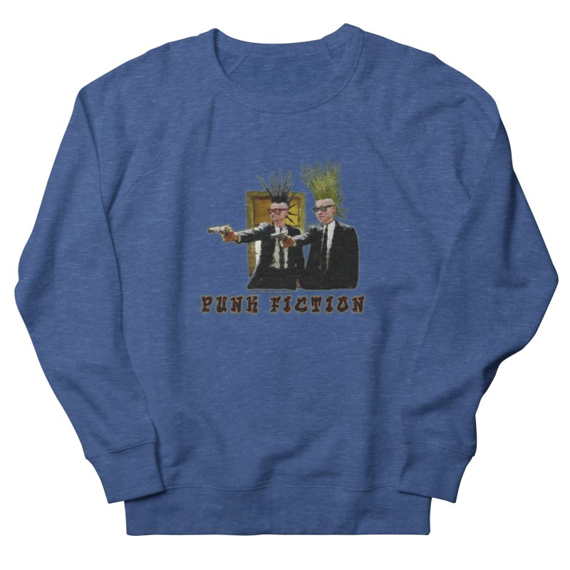 PUNK FICTION Men's Sweatshirt by LazyBonesStudios's Artist Shop