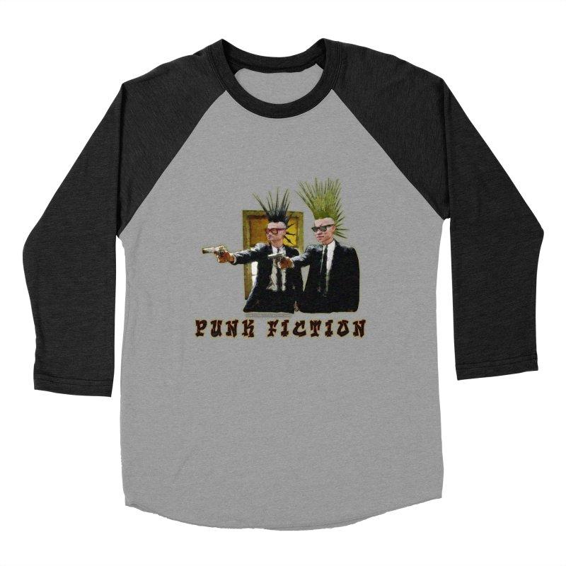 PUNK FICTION Women's Baseball Triblend T-Shirt by LazyBonesStudios's Artist Shop
