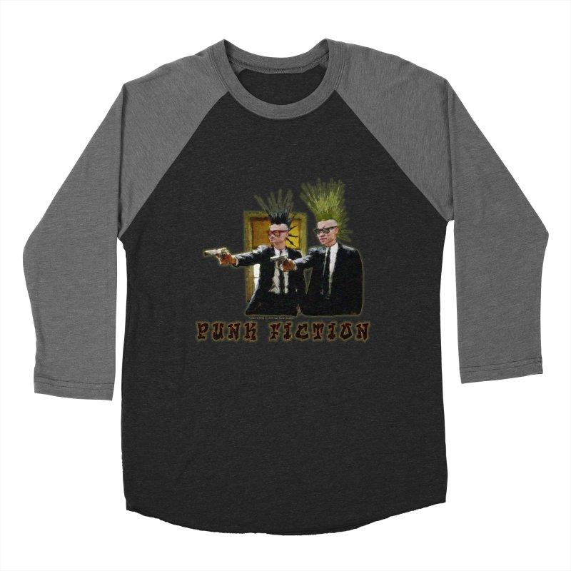 PUNK FICTION Men's Baseball Triblend T-Shirt by LazyBonesStudios's Artist Shop