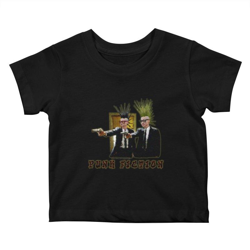 PUNK FICTION Kids Baby T-Shirt by LazyBonesStudios's Artist Shop
