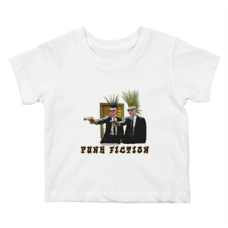 PUNK FICTION Kids Baby T-Shirt by LazyBonesStudios's Artist Shop